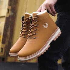 ankle boots, hikingboot, velvet, Winter