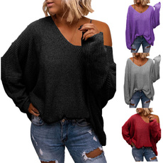 topsforwomenlongsleeve, Bat, Fashion, womenscasualsweater