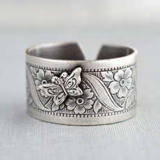 butterfly, Sterling, Silver Jewelry, 925 sterling silver