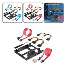 with4pinpowercable, harddrivebracket, Hard Drives, ssdmount