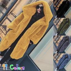 womenwarm, Plus Size, fur, Winter