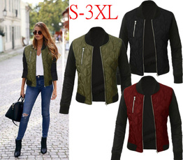 Casual Jackets, Fashion, Winter, quilted