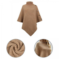 Women Sweater, turtleneckcoat, ponchocoat, Coat