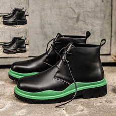 platformboot, Fashion, Leather Boots, leather