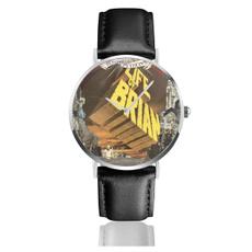 lifeofbrian2leatherwatch, Fashion, Clock, leather