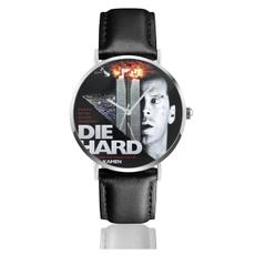 menwristwatch, Clock, leather, Jewelery & Watches
