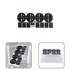 AC, Pvc, controlbuttondecal, Stickers