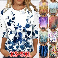 blouse, fashion women, Tees & T-Shirts, Tops & Blouses