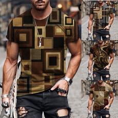 Summer, Printed T Shirts, Graphic T-Shirt, Sleeve