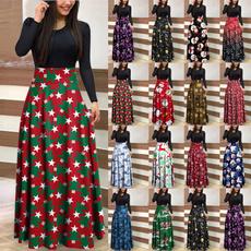 Fashion, christmasdresse, Long Sleeve, Evening Dress