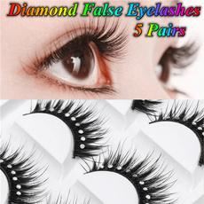 False Eyelashes, Blues, DIAMOND, Jewelry
