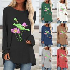 Fashion, Graphic T-Shirt, Long Sleeve, casual shirt