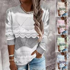 Plus Size, Fashion, Lace, Elastic