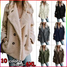 casual coat, Casual Hoodie, Winter, wool coat