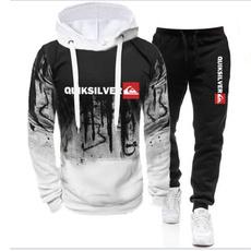 Outdoor, sportswearhoodie, drawstringhoodie, 2pcsset