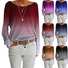 blouse, Plus Size, Tops & Blouses, Spring/Autumn