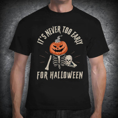 skeletontshirt, Shirt, halloweengift, skulltshirt