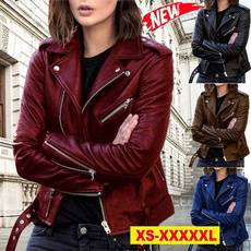 Casual Jackets, Plus Size, zipperjacket, slim
