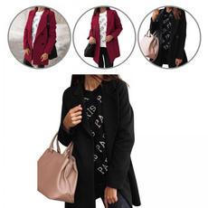 Long Sleeve, Coat, Outdoor, Collar