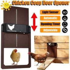 farmingtool, Door, Garden, automaticchickencoopdoor