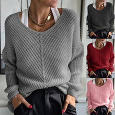 Plus Size, Winter, Sleeve, Long Sleeve