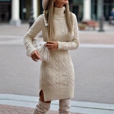 women pullover, Mini, Fashion, Office
