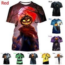 Summer, Plus Size, scary, halloweentshirt