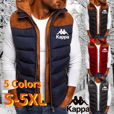 Jacket, Vest, menszipperjacket, kappa