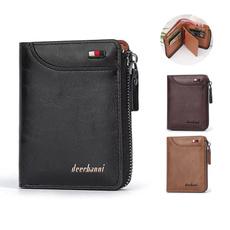 leather wallet, shortwallet, Capacity, front pocket wallet