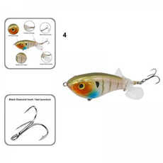 rotatinglure, fishingbait, Colorful, Fishing Lure