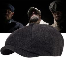 Flats, Cap, Men, beret