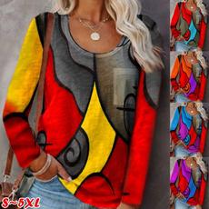 blouse, Plus Size, Stitching, Necks