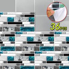 selfadhensivesticker, Home Decor, walldecoration, tilesticker