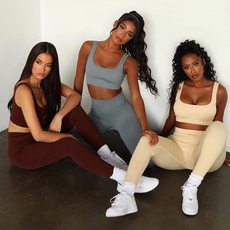 Fashion, Yoga, womensyogashort, 2pieceworkoutsetsforwomen