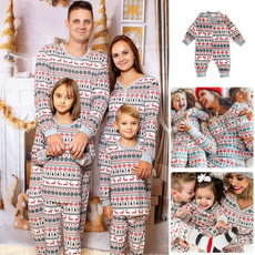 pajamaset, familymatchingoutfit, Christmas, Family
