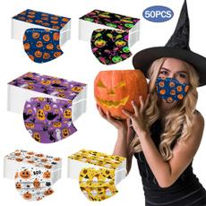 Outdoor, Elastic, Halloween, Masks
