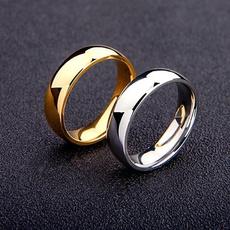 Steel, Fashion, wedding ring, 925 silver rings