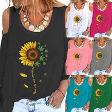 Fashion, Graphic T-Shirt, Long Sleeve, Spring