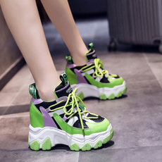 Summer, Sneakers, 休闲网红运动鞋, thickbottom