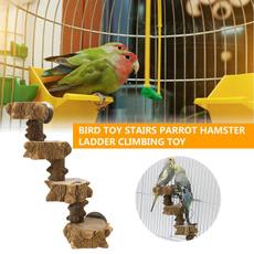 cockatieltoy, parakeetladder, ratcageaccessorie, Wooden