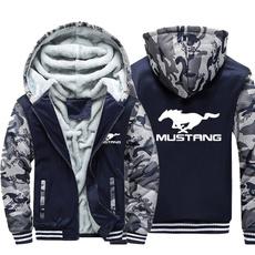 hooded, Winter, mustang, Coat