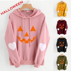 hooded sweater, Long Sleeve, winter fashion, Halloween