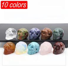 quartz, polished, Jewelry, skull