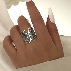butterfly, Beautiful Ring, Fashion, Jewelry
