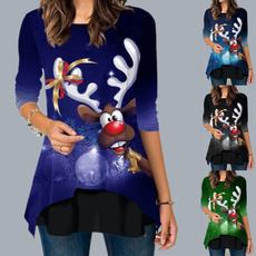 blouse, Round neck, Fashion, Graphic T-Shirt