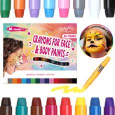 pencil, facepaint, Beauty, Halloween