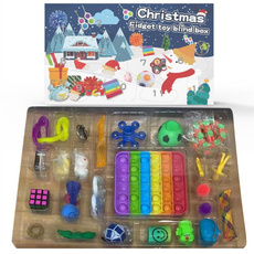 blind, Box, Toy, Christmas