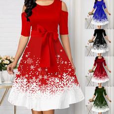 Plus Size, Dress, neck dress, slimfitdressforwomen