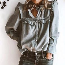 blouse, blouse women, long sleeve blouse, Shirt