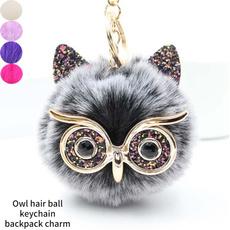 Plush Toys, Owl, Key Chain, bagornament